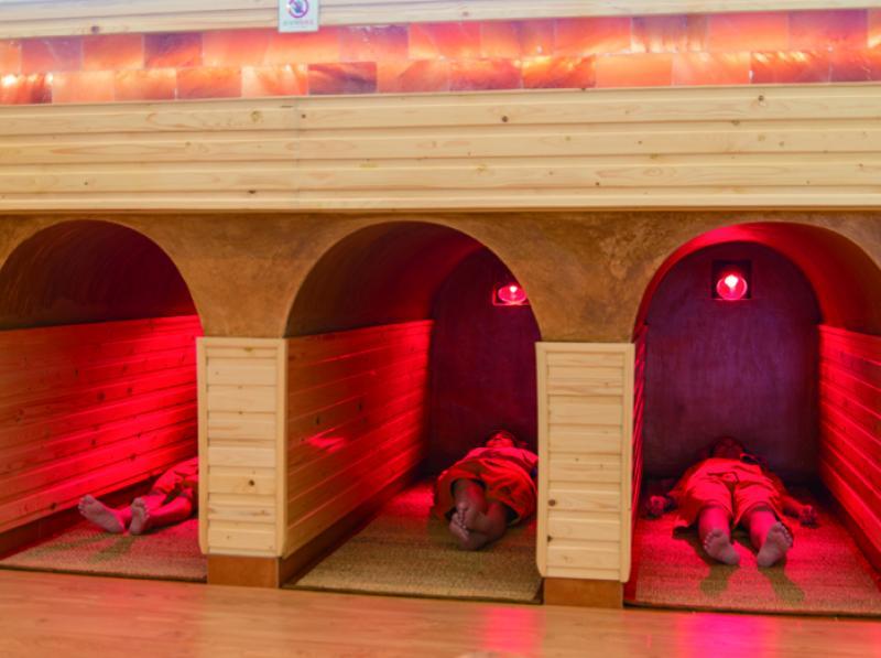 Hang hồng ngoại - đào thải độc tố/ Infrared cave to detoxify